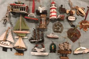 Travel ornaments
