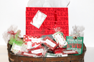 12 gifts in gift basket