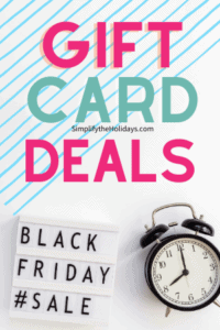 gift cards black friday
