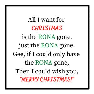 """printable """"All I want for Christmas"""" gift tags pdf"""