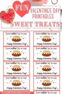 Valentines printable tags