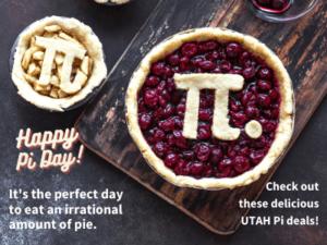 Pi day deals in Utah